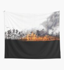 Wildfire Wall Tapestry