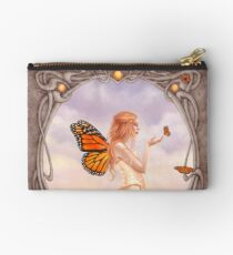 Citrine Birthstone Fairy Studio Pouch