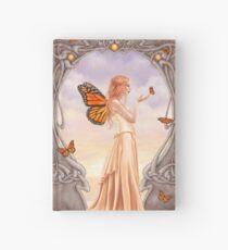 Citrine Birthstone Fairy Hardcover Journal