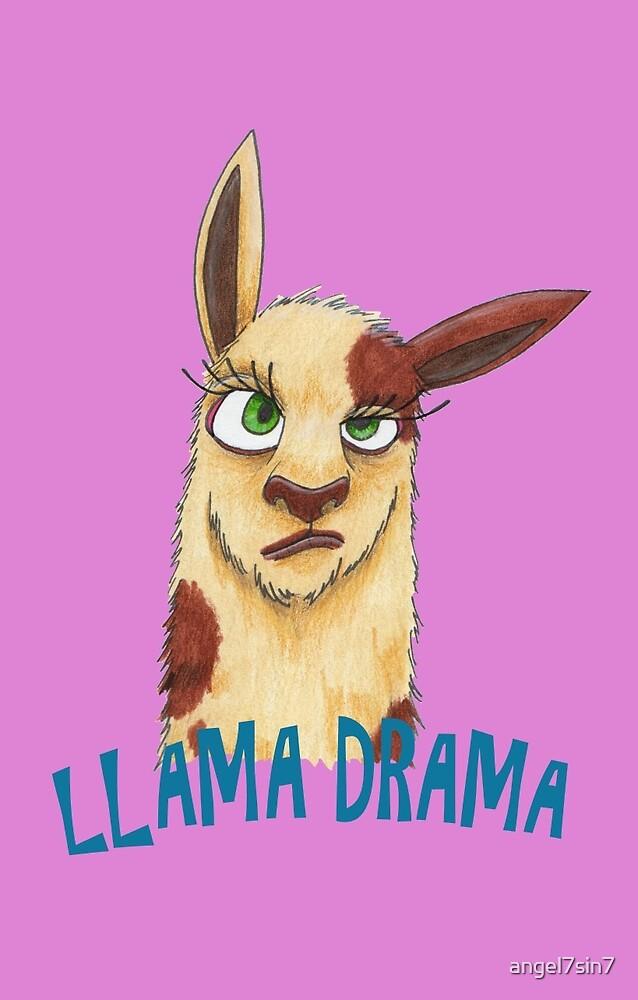 Llama Drama by angel7sin7