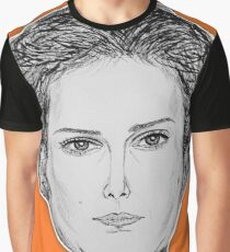 (The Most Beautiful Woman - Natalie Portman) - yks by ofs珊 Graphic T-Shirt