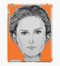 (The Most Beautiful Woman - Natalie Portman) - yks by ofs珊 iPad Case/Skin