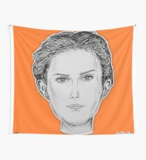 (The Most Beautiful Woman - Natalie Portman) - yks by ofs珊 Wall Tapestry