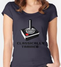 Classically Trained - T-shirt Women's Fitted Scoop T-Shirt