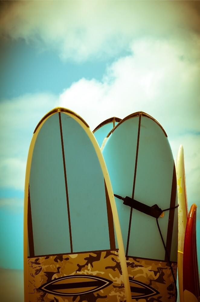 Vintage Surf Boards by mrdoomits
