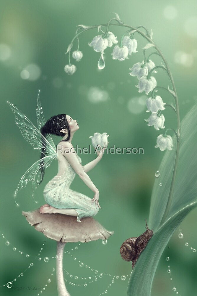 Lily of the Valley Flower Fairy by Rachel Anderson