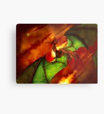 Dragon Rage Metal Print
