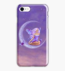 Lavender Moon Butterfly Fairy iPhone Case/Skin