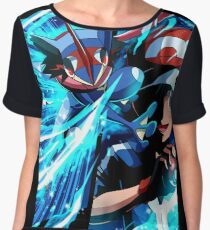 Pokemon Greninja Battle Chiffon Top