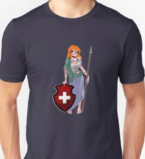 Hipster Helvetia Unisex T-Shirt