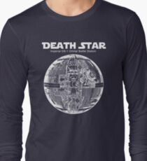 Death Star Blueprint - T-shirt Long Sleeve T-Shirt