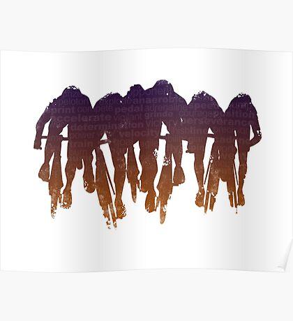 sprint line Poster