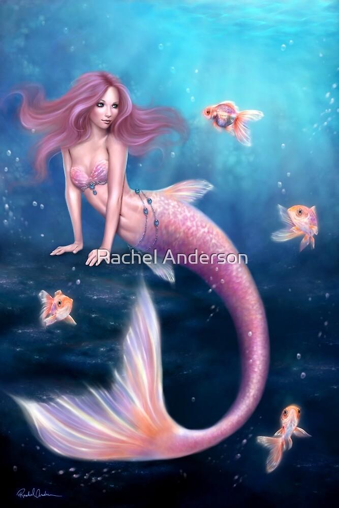Aurelia Goldfish Mermaid by Rachel Anderson
