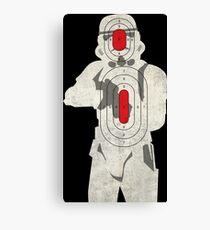 Trooper Target Canvas Print