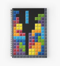 Blocks Spiral Notebook