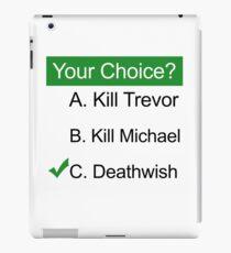 GTA 5 Deathwish iPad Case/Skin