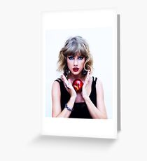 taylor swift Greeting Card