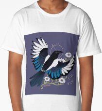 Familiar - European Magpie Long T-Shirt