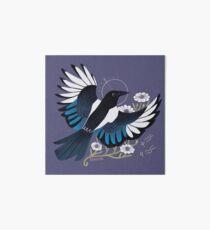 Familiar - European Magpie Art Board