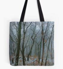 Fog & Snow Tote Bag