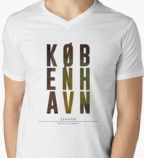 Copenhagen City Name Print T-Shirt