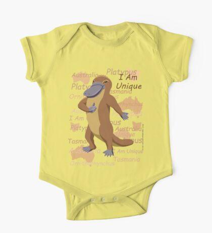 Platypus - I Am Unique Kids Clothes