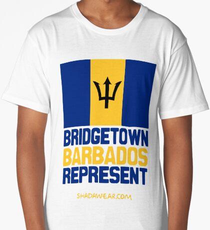 Bridgetown Barbados Represent Long T-Shirt