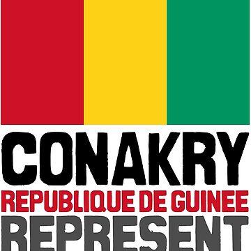 Conakry, Republique de Guinée. Represent by kaysha