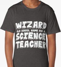 Science Teacher Design Long T-Shirt