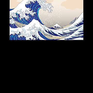 The Great Wave off Kanagawa - Hokusai by roespha