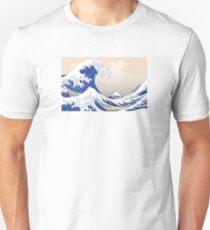 The Great Wave off Kanagawa - Hokusai Unisex T-Shirt