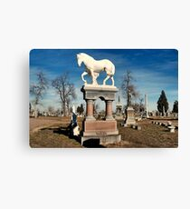 The Final Ride Canvas Print