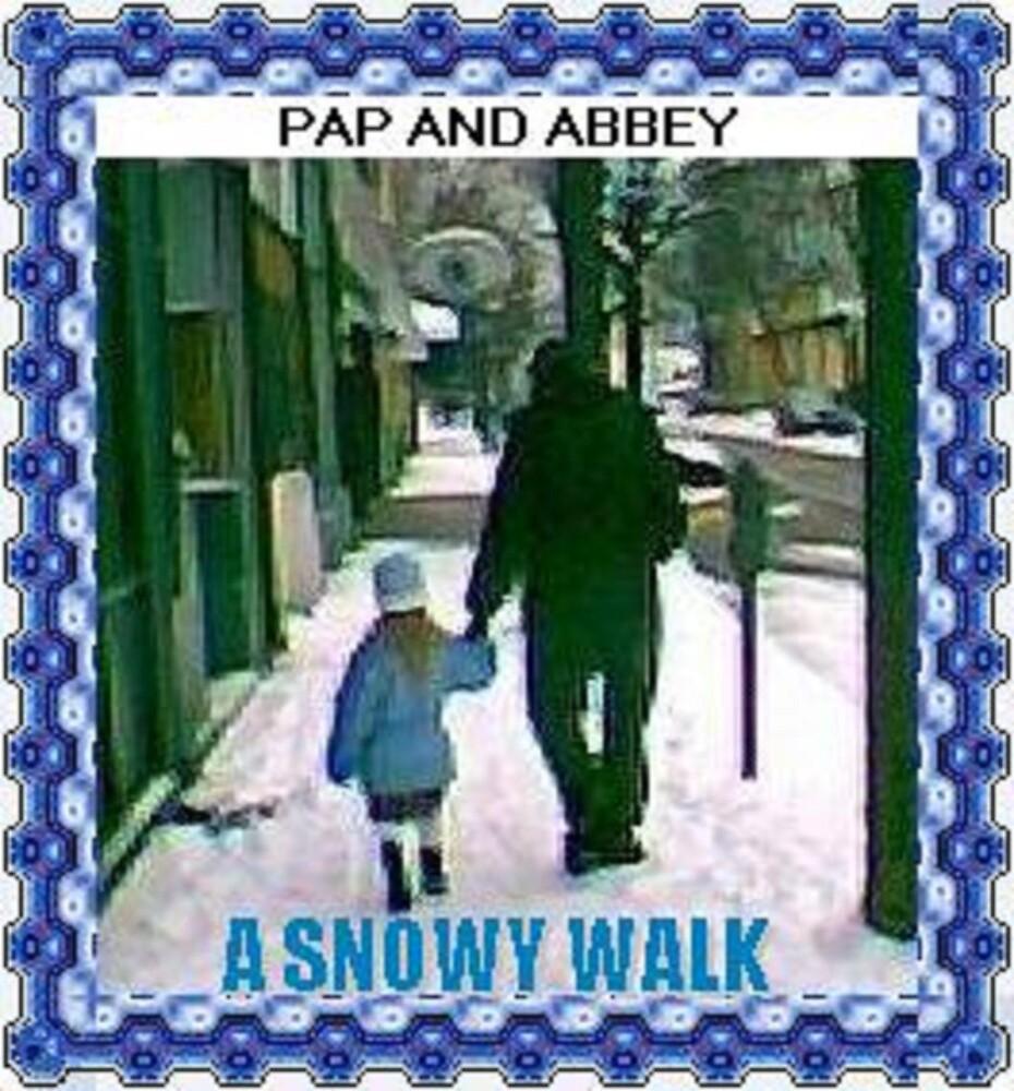 Snowy Walk by kathyesh
