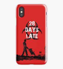 28 Days Late - Single Dad iPhone Case/Skin