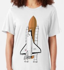 Space Shuttle Slim Fit T-Shirt