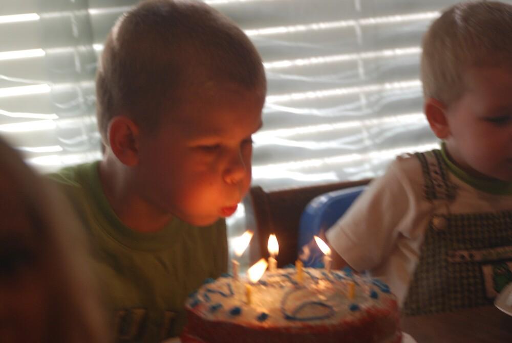 Sixth Birthday by kathyesh