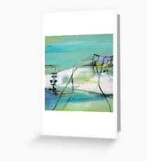 Sand Tracks Greeting Card