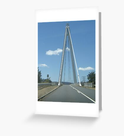 Tas Bridge Greeting Card
