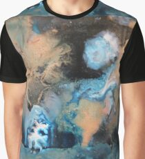 A Ghostly Moon Graphic T-Shirt