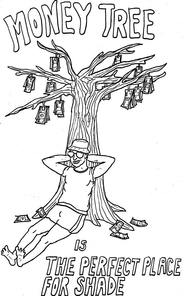 Money Tree by Netchkoque