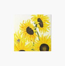 sunflowers 2017 Art Board