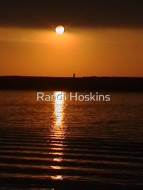 Oregon Coast Sunset by Randi Hoskins