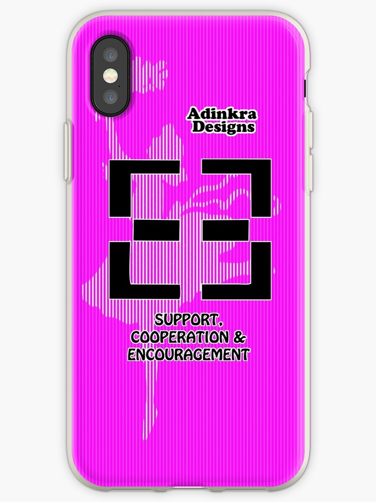 10-iphone4-Adinkra-Series-Support-Cooperation-Encouragement by Keith Richardson