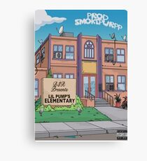 Lil Pump Elementary Poster Canvas Print