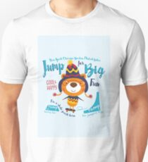 Jump for Big Fun Unisex T-Shirt