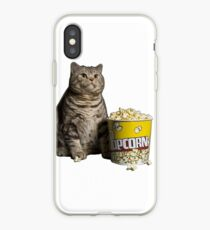 Popcorn Katze iPhone-Hülle & Cover
