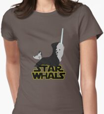 Starwhals Womens Fitted T-Shirt