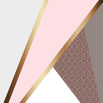 Pink Geometry by babibell