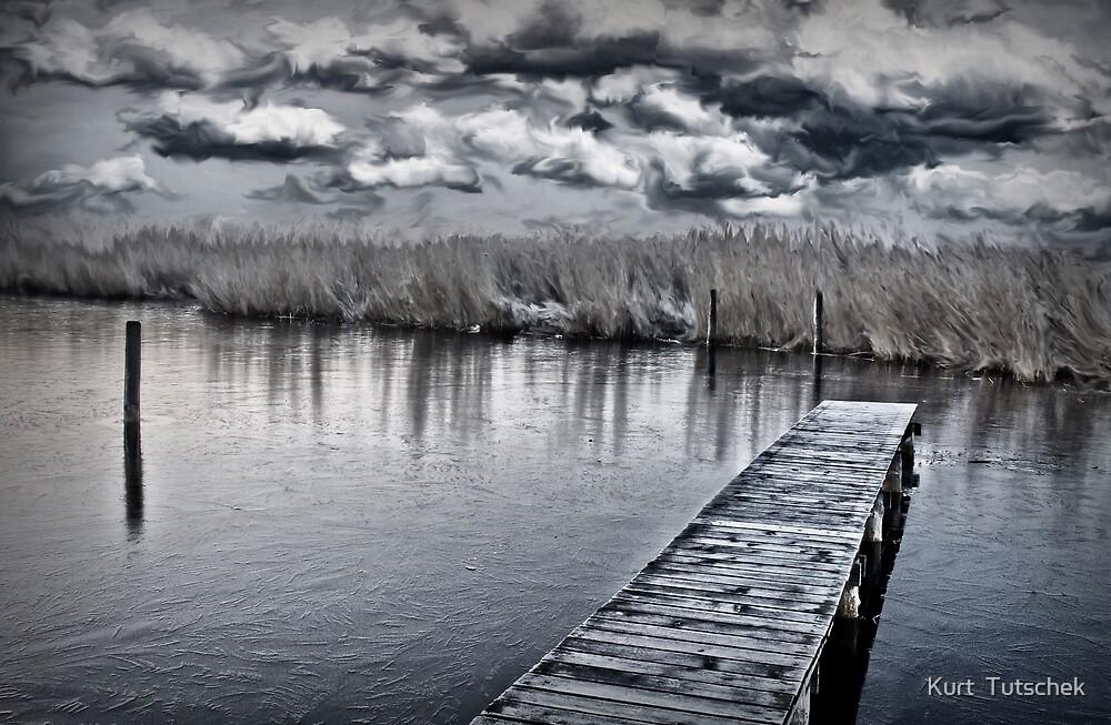Standing at the water's edge by Kurt  Tutschek