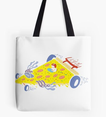 Speedy Pizza Delivery ™ Tote Bag